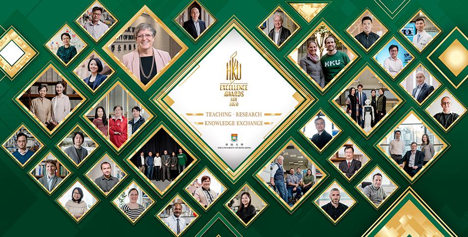 HKU Excellence Awards Presentation Ceremony for 2020