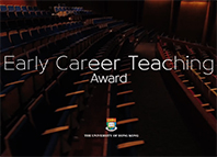 Early Career Teaching Award
