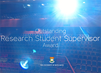 Outstanding Research Student Supervisor Award