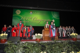 Photo Highlights of the 187th Congregation (2012)