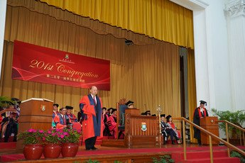 Conferment of degree of Doctor of Laws <i>honoris causa</i> upon the Honourable Chief Justice Geoffrey MA Tao Li