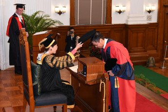 Conferment of Degree of Doctor of Laws <i>honoris causa</i>  upon the Honourable Mr Justice Roberto Alexandre Vieira RIBEIRO