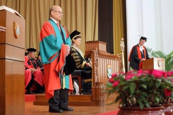 Conferment of Degree of Doctor of Social Sciences <i>honoris causa</i> upon Dr David SIN Wai Kin