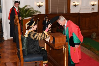 Conferment of Degree of Doctor of Social Sciences <i>honoris causa</i> upon Professor Andrew Michael SPENCE