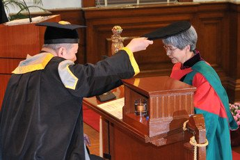 Conferment of the degree of Doctor of Social Sciences <i>honoris causa</i> upon Professor FAN Jinshi