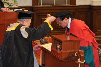 Conferment of the degree of Doctor of Social Sciences <i>honoris causa</i> upon Professor WANG Shenghong