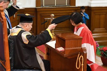 Professor Anna Lok Suk Fong, Doctor of Science <i>honoris causa<i>
