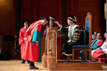Conferment of the degree of Doctor of Social Sciences <i>honoris causa</i> upon Dr Jack MA