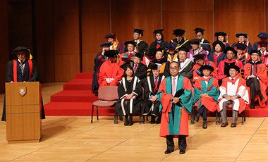 Conferment of the degree of Doctor of Social Sciences <i>honoris causa</i> upon Dr David MONG