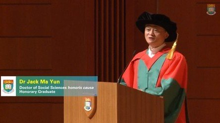 Speech by Dr Jack MA Yun and Closing of the Congregation