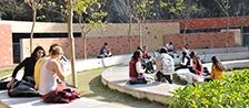 Photo - Students at the Centennial Garden