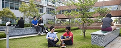 Photo - Students at the Centennial Campus